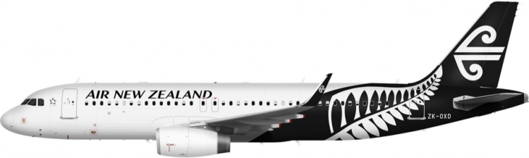 Airbus A320 (NZ Domestic)