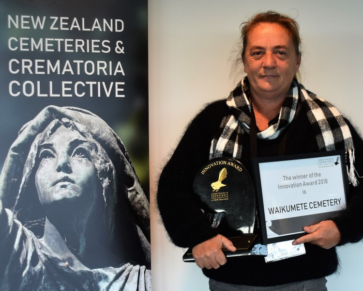 Award recognises innovation of Auckland Cemeteries