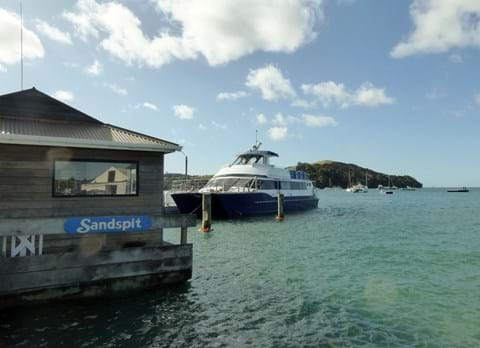 Ferry service provides link to essential services for Kawau Island residents2