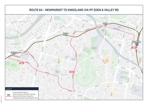 New Kingsland-Mt Eden-Newmarket bus route launches on Sunday (1)