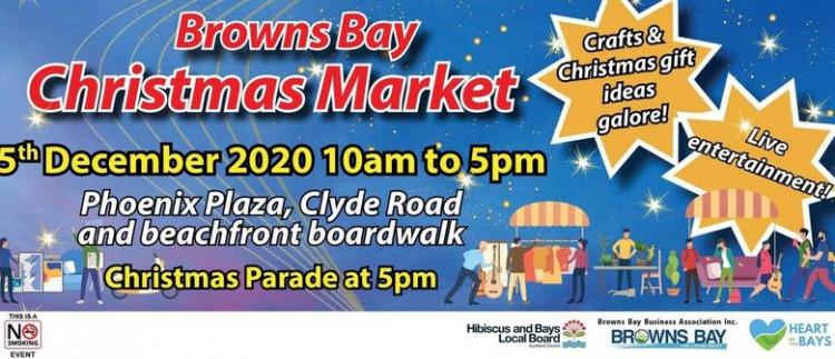 Browns Bay Christmas Parade & Market!