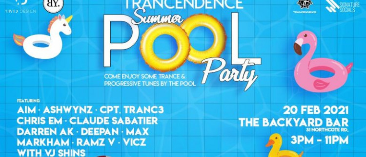 Trancendence Summer Pool Party