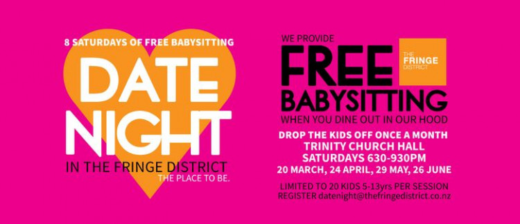 Date Night - Free Babysitting in the Fringe District