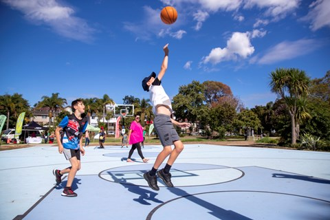 New court a slam dunk for basketball facilities on the shore 1
