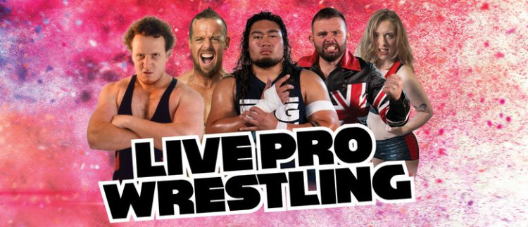 Live Pro Wrestling - Blockhouse Bay