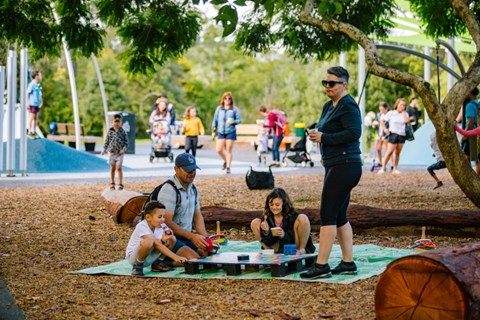 New playground celebrated at Western Springs Lakeside Te Wai Orea Park (2)