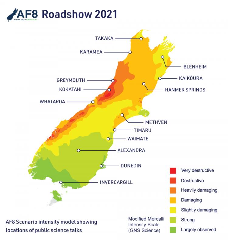 AF8 Roadshow 2021