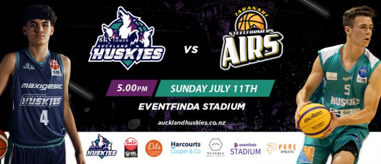 Auckland Huskies vs Taranaki Mountainairs