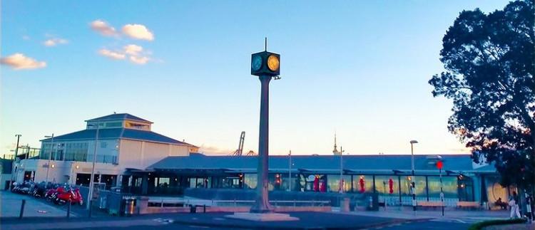 Devonport Market in the Wharf