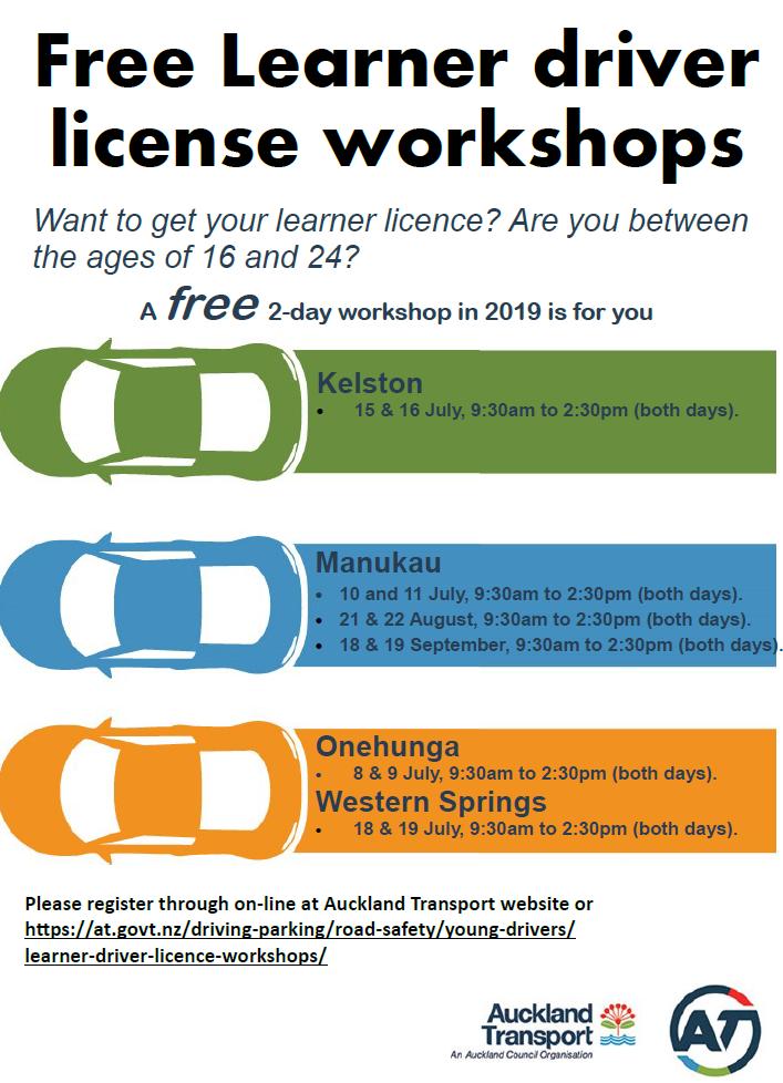 Drive Licence workshop