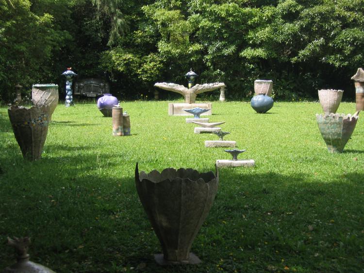 야외 조각품 전시장